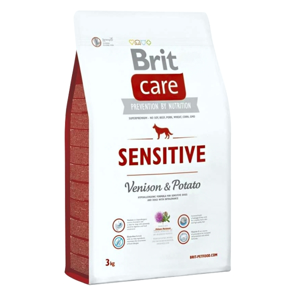 Brit Care Sensitive Geyik Etli Köpek Maması 3 Kg