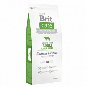 Brit Care Grain-Free Adult Somon Ve Patatesli Tahılsız Köpek Maması 12 Kg